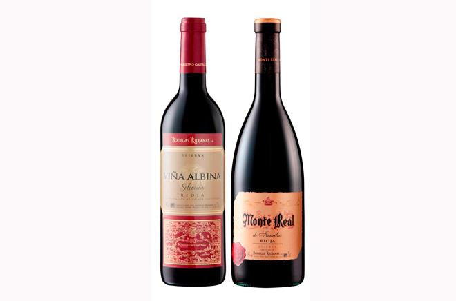 Bodegas Riojanas presenta la añada 2007 de sus clásicos reservas Monte Real y Viña Albina