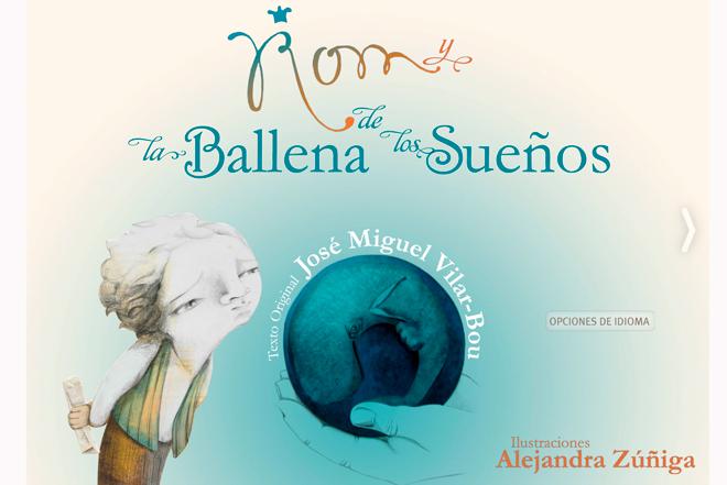 'Rom y la ballena de los sueños', una app que recupera el sabor de los cuentos infantiles