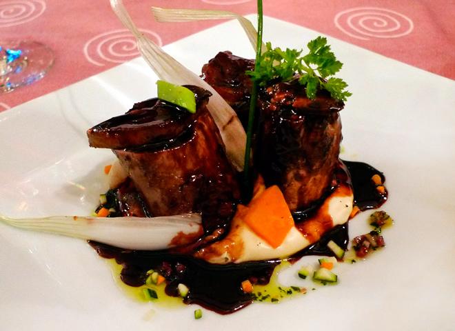 Restaurante Viña La Mazuela. Plasencia. Cáceres