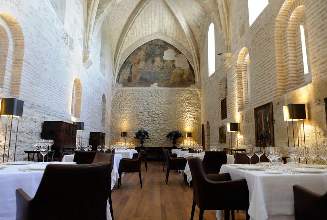 LeDomaine, Restaurante Refectorio del Hotel Abadía Retuerta, galardonado con un Sol en la Guía Repsol 2014