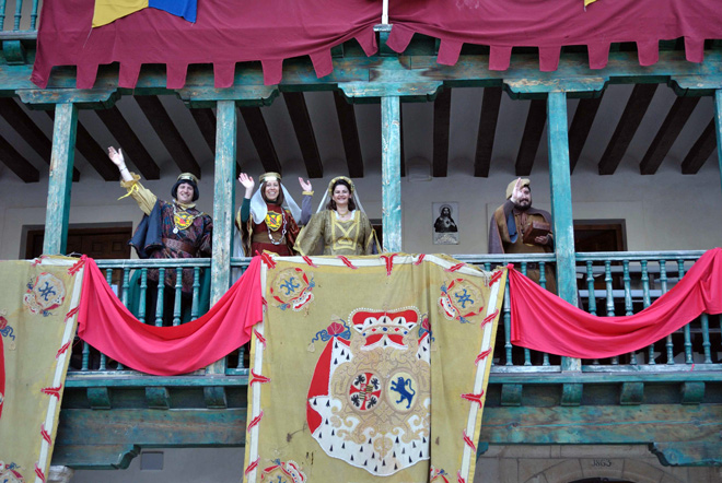 Viaje al medievo en el Carnaval de Chinchón