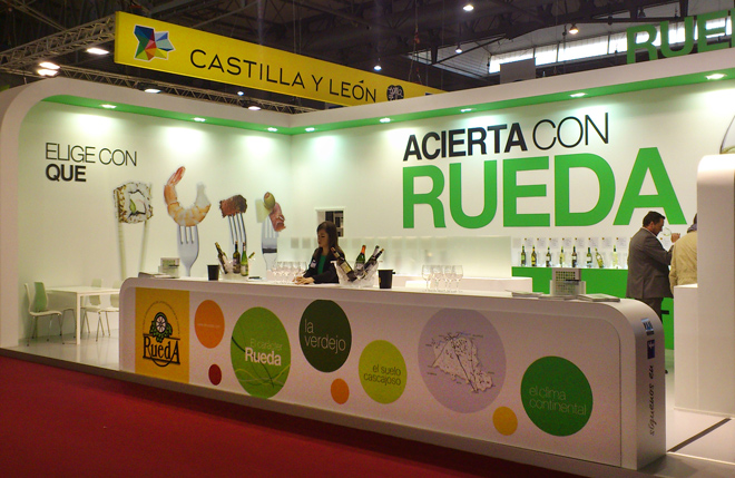 DO Rueda en Alimentaria.