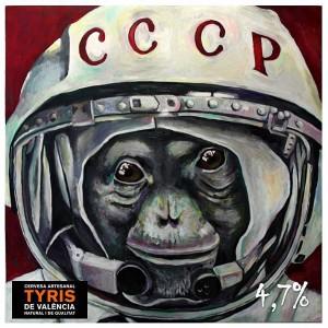 Cervezas Tyris - etiqueta CCCP - StylusGastro.com