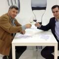 Pablo del Villar, DO Rueda, Enrique Pascual, DO Ribera de Duero, firma convenio EEUU