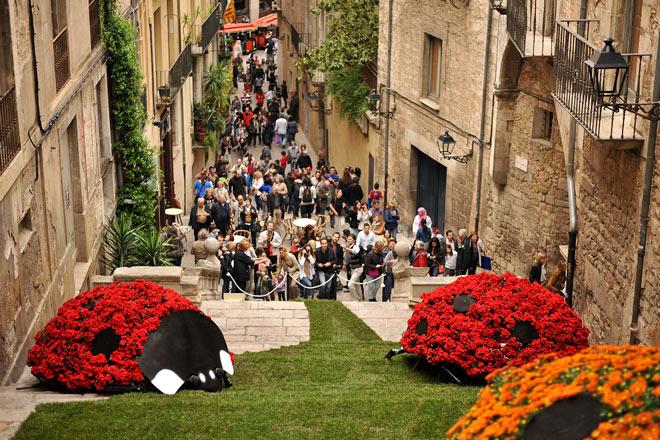 Temps de Flors, Girona, Costa Brava