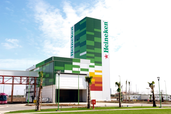 Fábrica Heineken en España