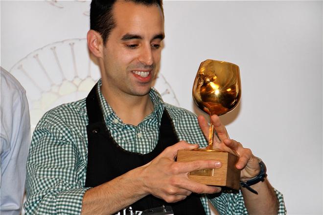 Iván Martínez gana la 'Nariz de Oro' 2014