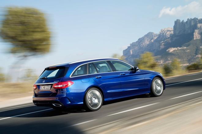 El C más familiar de Mercedes-Benz, el nuevo Clase C Estate