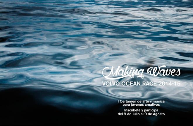 Volvo Ocean Race convoca su primer certamen de arte y música joven mientras los VO65 ensayan en aguas de Canarias