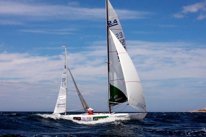 Rafa Andarias se lleva el Trofeo Ciudad de Santander de 2.4mR