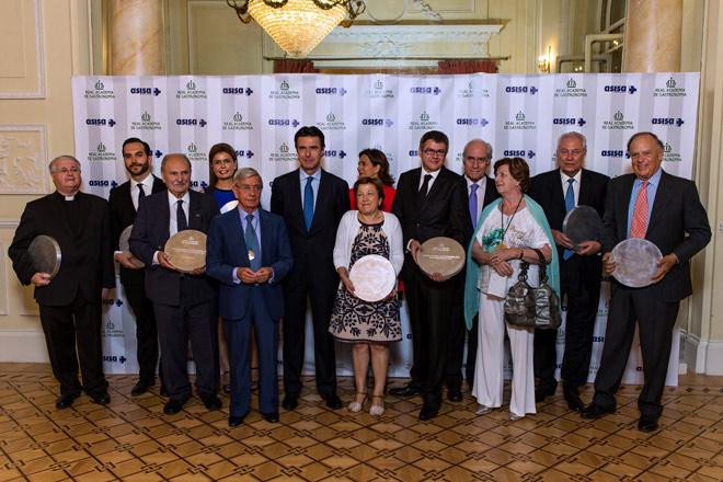 Mario Sandoval, Javier de Andrés y Gemma Vela, entre los triunfadores de los Premios Nacionales de Gastronomía