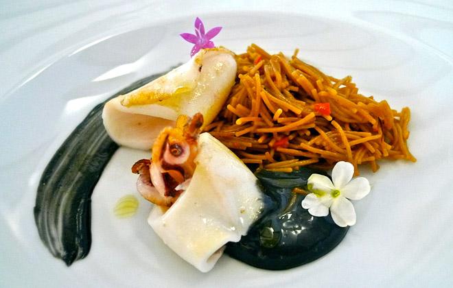 Cocina elaborada con productos selectos. Casa Pepa, Ondara (Alicante)