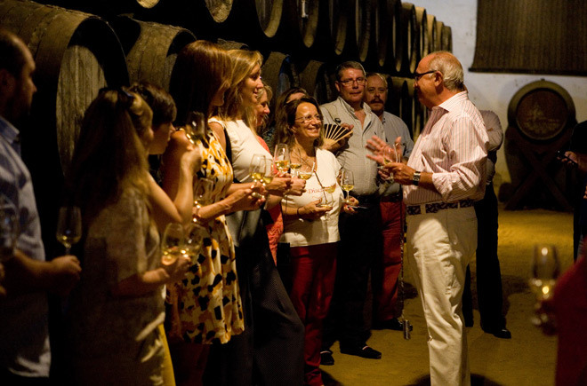 segunda jornada del #Sherrymaster by Tío Pepe