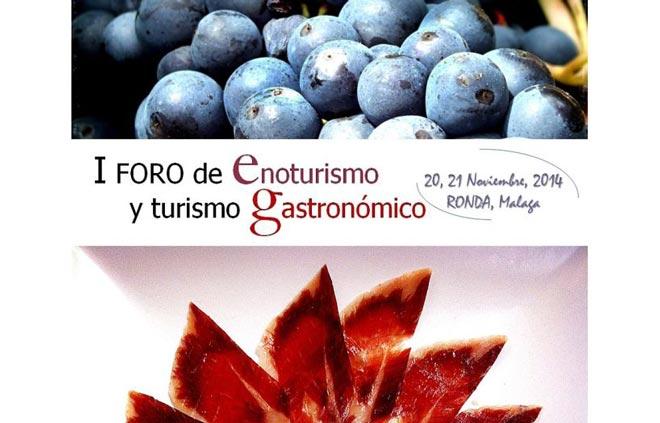 Ronda acogerá el 'I Foro de Enoturismo y Turismo Gastronómico'