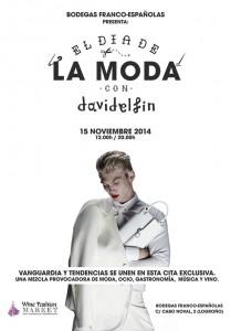 Bodegas Franco -Españolas y David Delfin presentan el 'Gran día de la Moda'