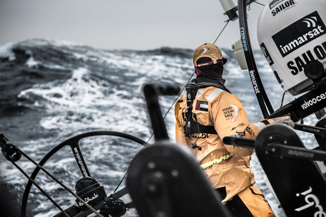 El mal tiempo azota la flota. Crónica de guardia 9 de febrero, Volvo Ocean Race, www.globalstylus.com stylusnautica
