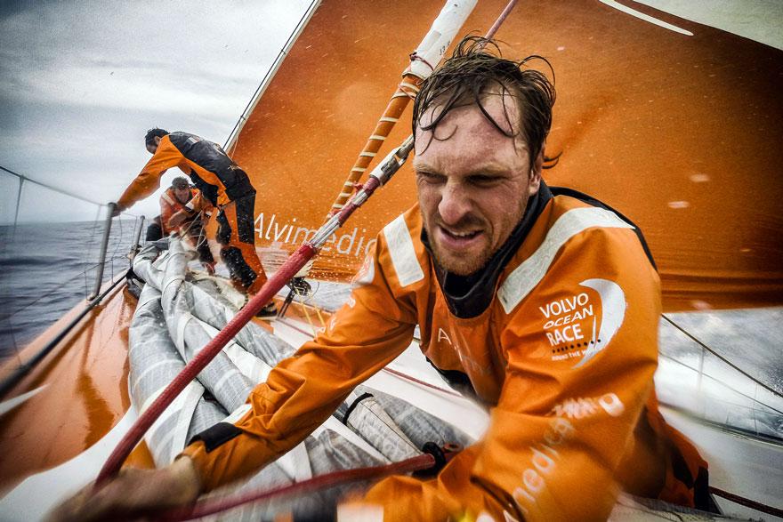 MAPFRE vence en la etapa más dura de la Volvo Ocean Race, StylusNautica, www.globalstylus.com
