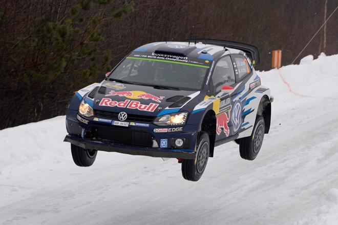 Los Volkswagen Polo R WRC encaran el rallye de Suecia