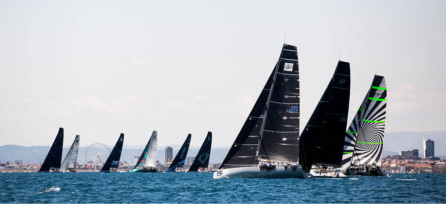 La 52 Super Series inicia su cuarta edición en aguas de Valencia, www.globalstylus, www.stylusnautica,