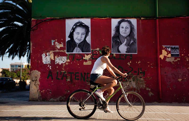 """""""Inside Out Project"""", el arte como resistencia en el barrio marinero de El Cabanyal"""