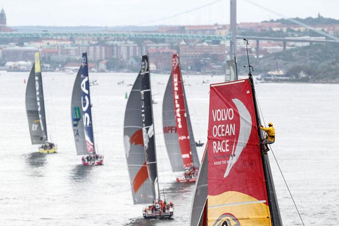 MAPFRE gana una posición y acaba cuarto en la Volvo Ocean Race 2014-15, con don Juan Carlos a bordo, www.globalstylus.com, www.stylusnautica.com,