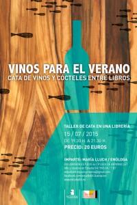Vinos para el verano. Cata de vinos y cócteles entre libros, www.globalstylus.com, www.stylusvinum.com