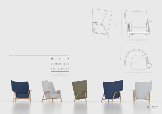 El mejor Smoking Chair Habanos de este año es el de Ximo Roca, www.globalstylus.com, www.stylusart.com,
