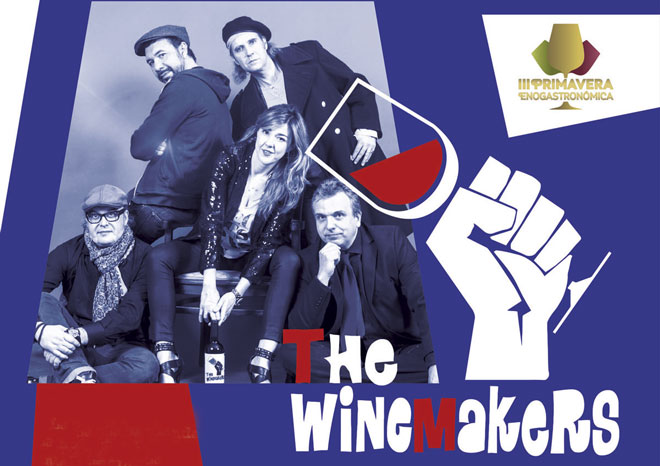 Fin de semana de Rock&Roll en Almendralejo con 'The Winemakers'