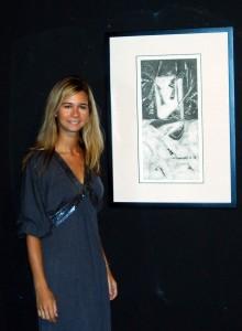 Entre la caligrafía china y la abstracción. Verónica Rodrigo expone en Bodegas Riojanas, www.globalstylus.com, www.stylusart.com,