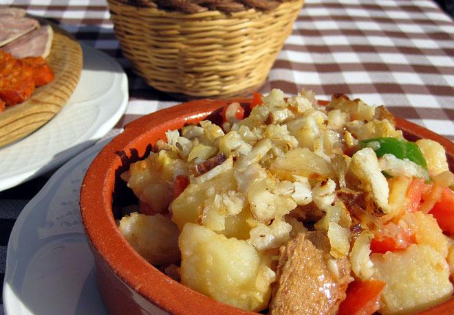 Ensalada payesa típica de Formentera