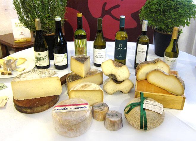 Vinos blancos de Rioja y quesos de la Comunitat Valenciana, una armonía perfecta