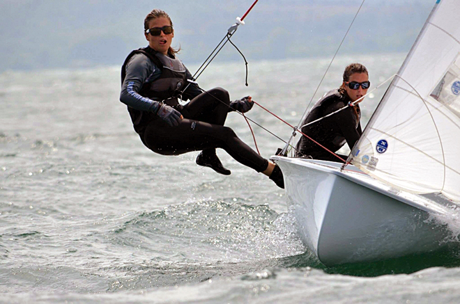 Las españolas reinan en la Youth 470 European Championship