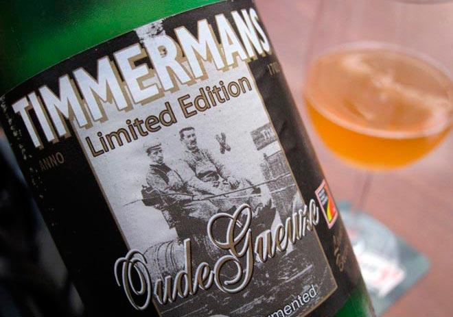 Timmermans Oude Gueuze Lambicus. El lado salvaje de las cervezas