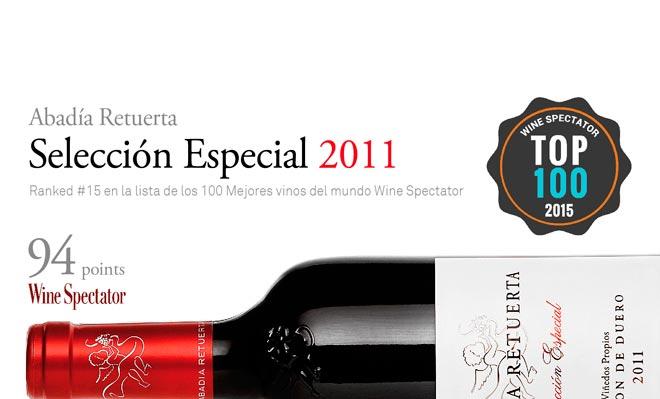El Selección Especial 2011 de Abadía Retuerta entre los 15 mejores del mundo según Wine Spectator