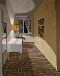 'Habitación de costura', I. Quintanilla (1974)