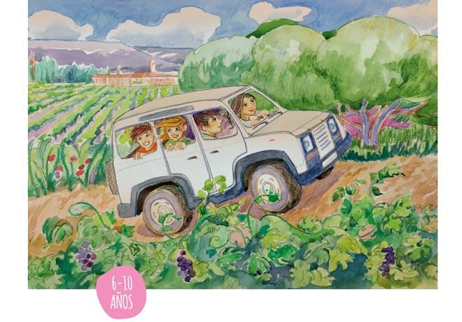 'La aventura del vino', primer volumen de una trilogía pensada para los más pequeños