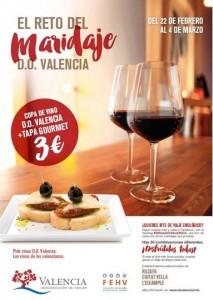 Los DO Valencia alegran el paladar con tapas y vinos, Ruta del Maridaje, Vins al Mercat, www.globalstylus.com