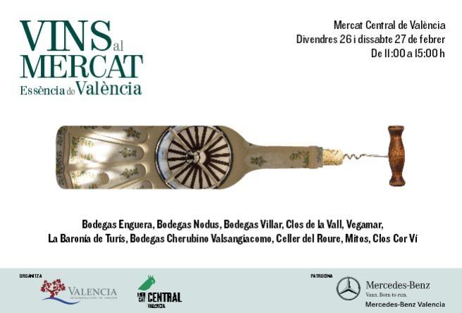 Valencia va de vinos al Mercat Central