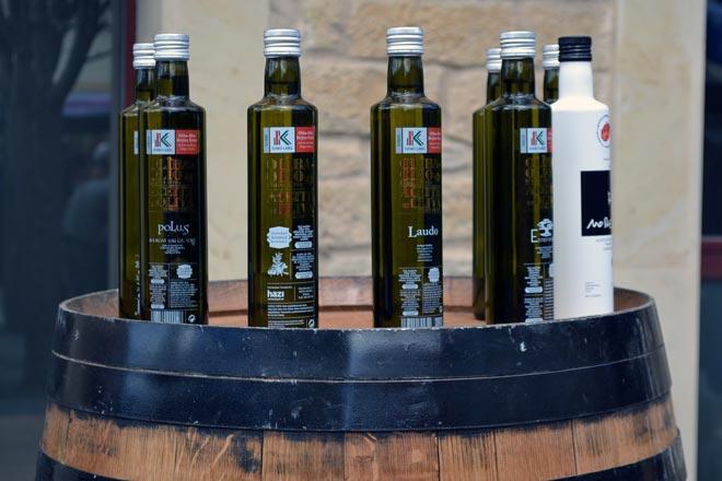 Rioja Alavesa celebra la Fiesta del Aceite de Oliva con la variedad Arroniz como protagonista
