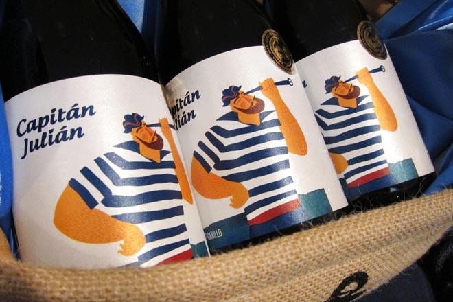 El tinto Capitán Julián, de Bodegas Ontinium, elegido 'Vino Solidario'
