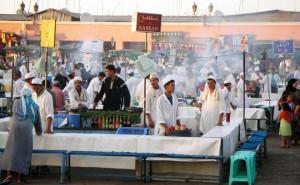 La Plaza de Yamaa el Fna, Marrakech: la Plaza más bonita de África (1/2)