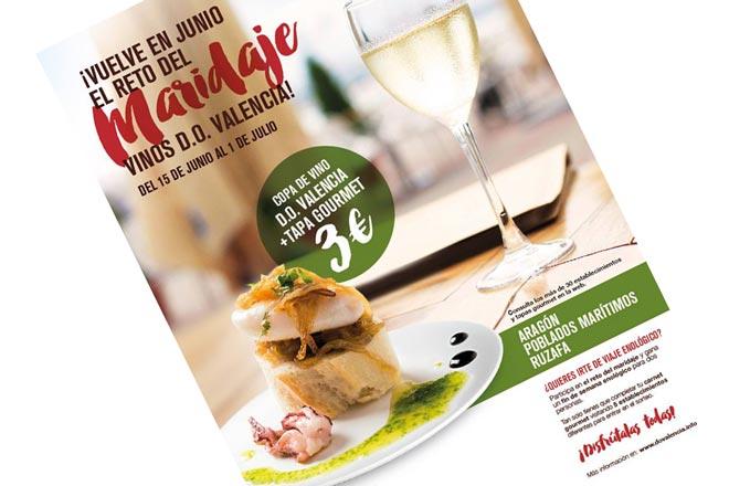 II Reto del Maridaje: tapas selectas y vinos DO Valencia