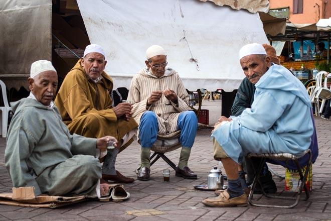 La Plaza de Yamaa el Fna, Marrakech: la Plaza más bonita de África