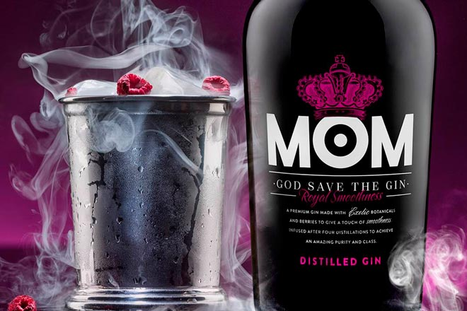 Queen of the mist, coctel en la niebla con Mom Gin
