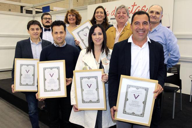 Los sumilleres valencianos entregan los 'Distinguidos Utiel-Requena' en Gastrónoma 2016