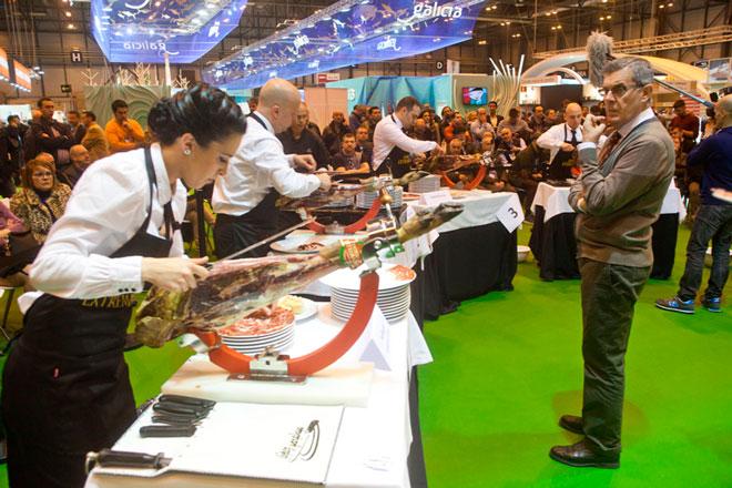 El arte de cortar Jamón Ibérico. Salón de Gourmets, la Feria de Alimentación y Bebidas de Calidad