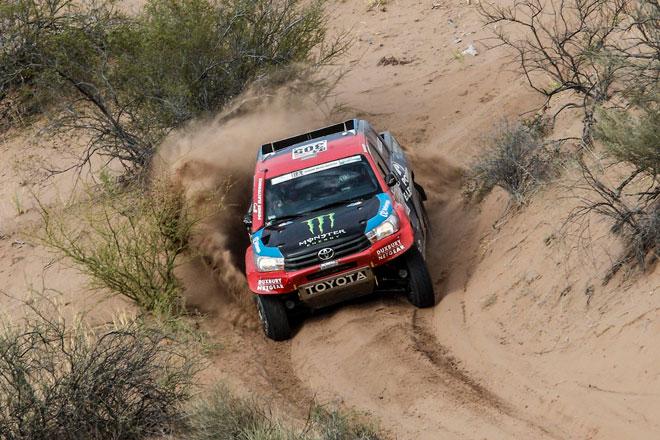 'Terminar siempre es un premio'. Nani Roma y Toyota, cuartos en su primer Dakar juntos