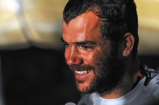 Pablo Arrarte, MAPFRE, objetivo: 'Ganar la Volvo Ocean Race'