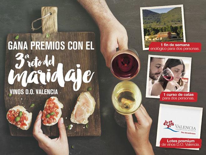Vuelve El Reto del Maridaje: tapas creativas y vinos DO Valencia