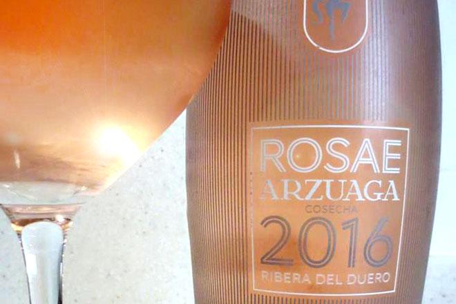 Arzuaga Rosae 2016, rosado pálido de la Ribera del Duero